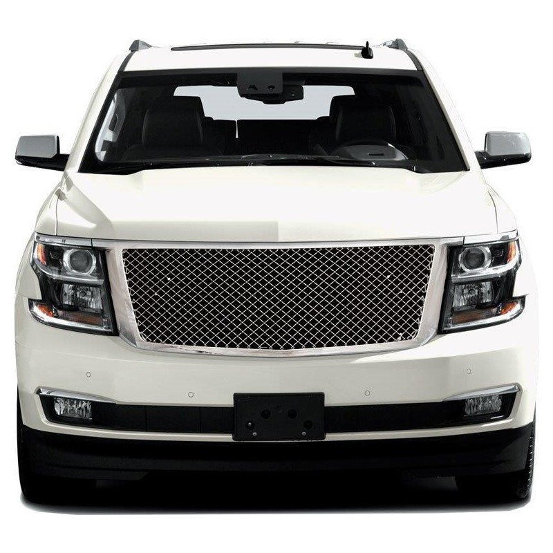 2015 2016 Chevy Suburban Tahoe Replacement Grille Shell