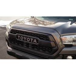 2016-2018 Toyota Tacoma abs Matt black  grille replacement