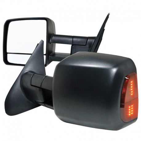 2007-2017 Toyota Tundra Power Heated Towing Mirrors with led light