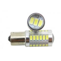 led 1156 5 time strobe lights white