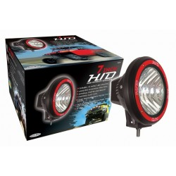 "Hid 4"" Round fog lights pair 6000k color"