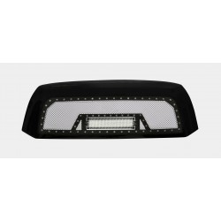 "2007-2009 TOYOTA TUNDRA w/ 12""LED Light Bar w/ Rivets"