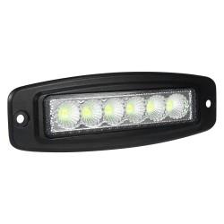 LED FLUSH MOUNT WORK LIGHTS 18 WATTS SPOT SLIM PAIR
